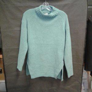 Women's Mock Turtleneck Tunic Pullover Sweater